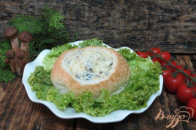 фото рецепта: Булочки закусочные с грибами