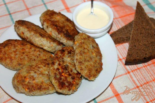 фото рецепта: Гречаники с капустой и мясом