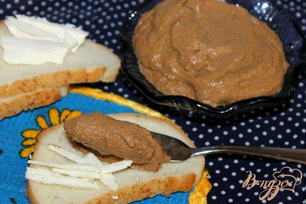 фото рецепта: Нежный паштет из куриной печени с болгарским перцем