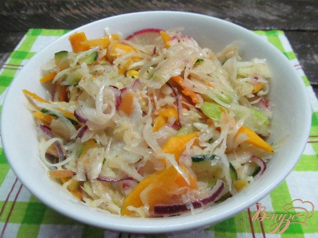 фото рецепта: Капустный салат в легком маринаде