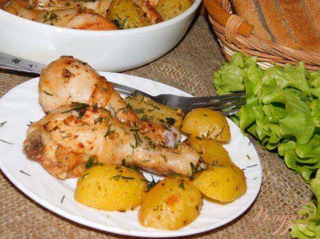 фото рецепта: Куриные голени в соевом маринаде