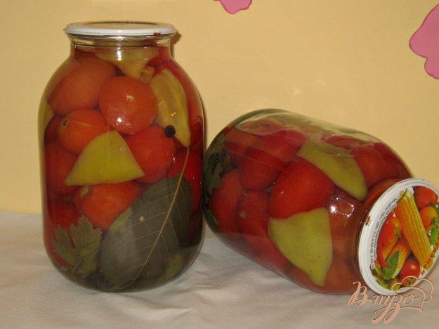 фото рецепта: Маринованные помидоры любимый рецепт