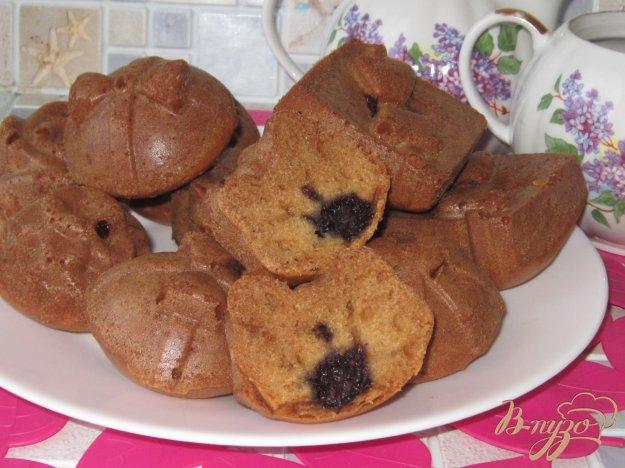 фото рецепта: Кексы с шелковицей