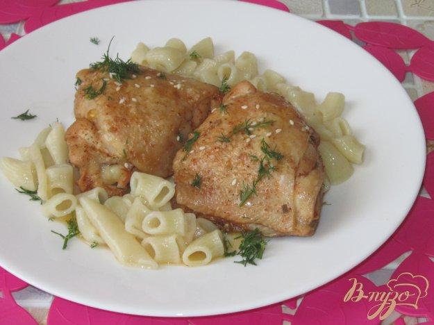 фото рецепта: Аппетитные жареные куриные бедра
