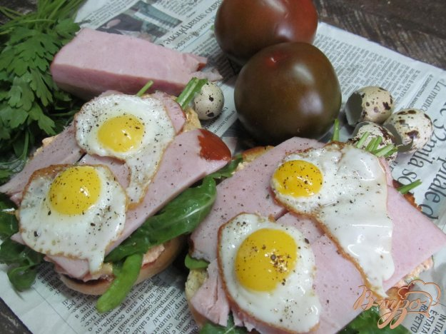 фото рецепта: Бутерброды с творожным соусом