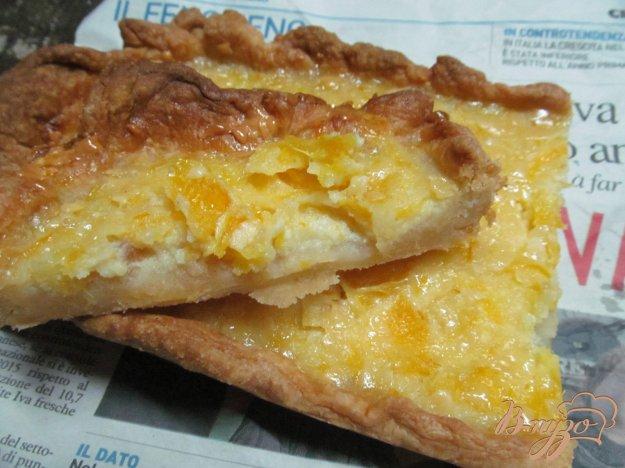 фото рецепта: Апельсиновый пирог на слоеном тесте