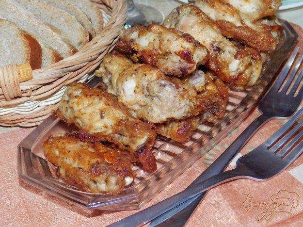 фото рецепта: Крылышки в  маринаде из соевого соуса