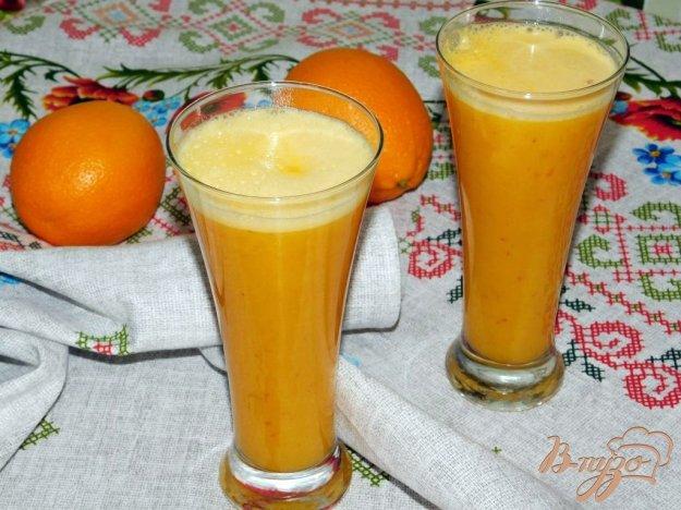 фото рецепта: Тыквенно-апельсиновый смузи