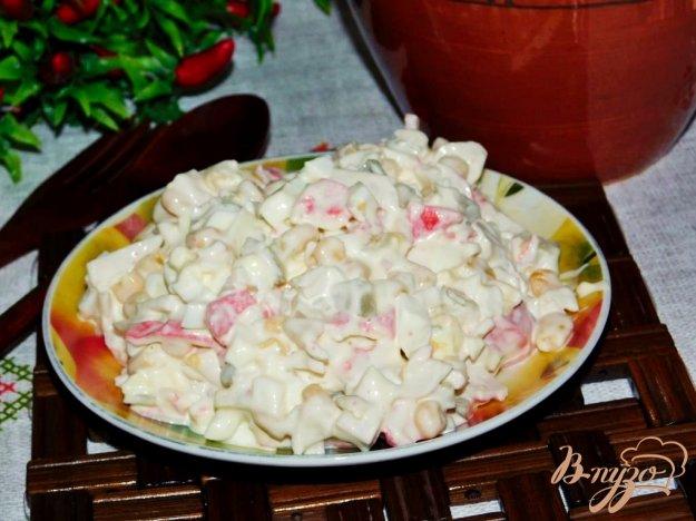 салат хорватский крабовый рецепт