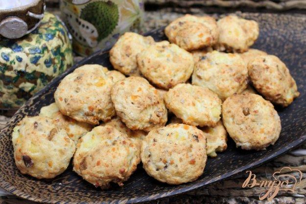 фото рецепта: Творожное печенье с орехами