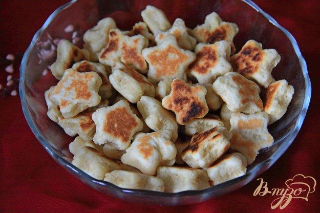 фото рецепта: Белковые пышки-малышки на сковороде