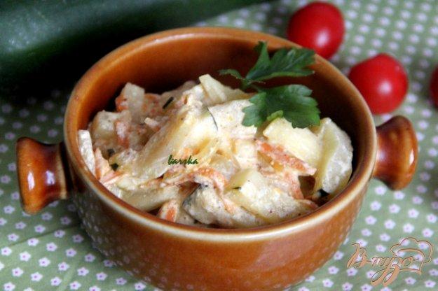 фото рецепта: Цуккини, приготовленные по-венгерски