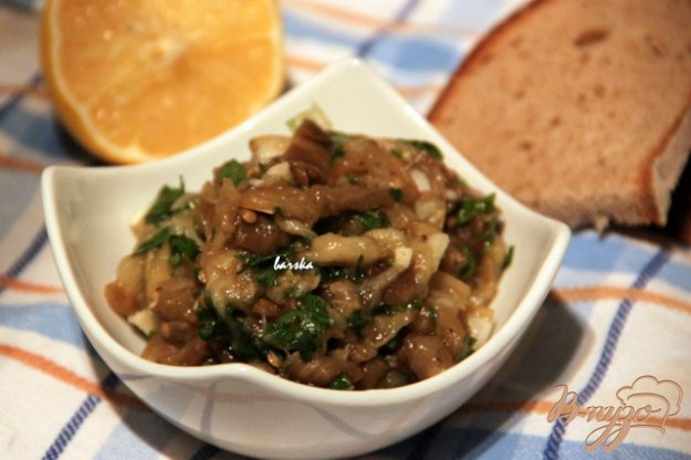 фото рецепта: Мелидзаносалата  - салат из баклажанов по-гречески
