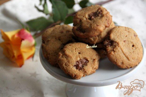 фото рецепта: Печенье с арахисовой пастой