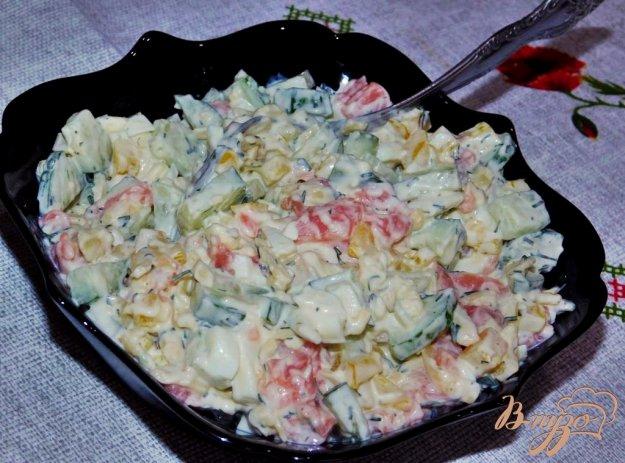 фото рецепта: Салат с форелью