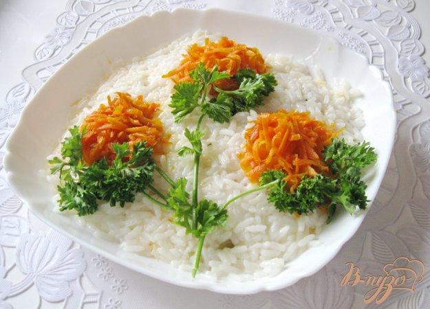 фото рецепта: Салат  с рисом и яйцами