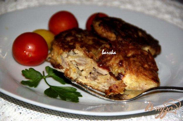 фото рецепта: Картофельно-мясные котлеты