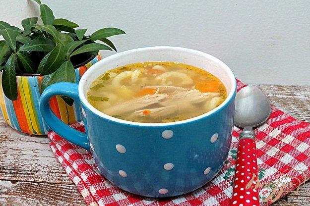 фото рецепта: Суп со свининой и макаронами