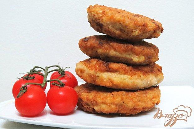 фото рецепта: Котлеты куриные с моцареллой