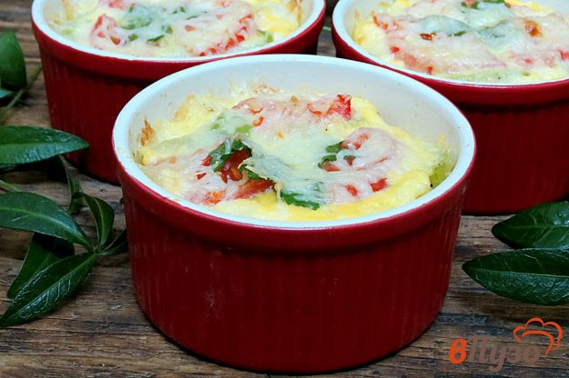 фото рецепта: Запеканка из цветной капусты с сыром моцарелла