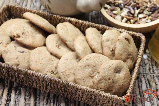 фото рецепта: Ржаное печенье с орехами