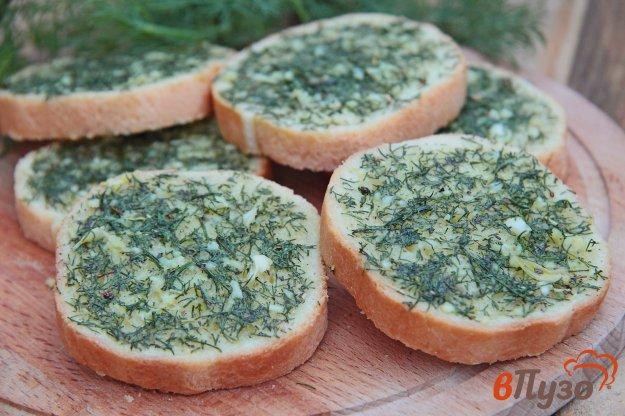 фото рецепта: Чесночные тосты в духовке