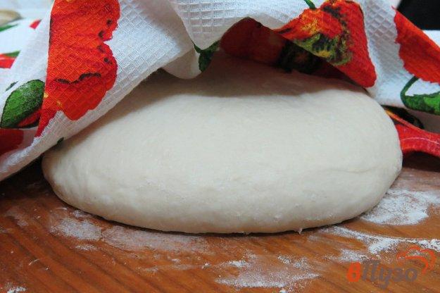 фото рецепта: Быстрое дрожжевое тесто для пиццы