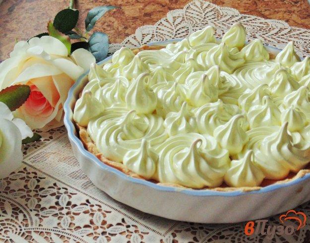 фото рецепта: Тыквенный пирог с меренгой