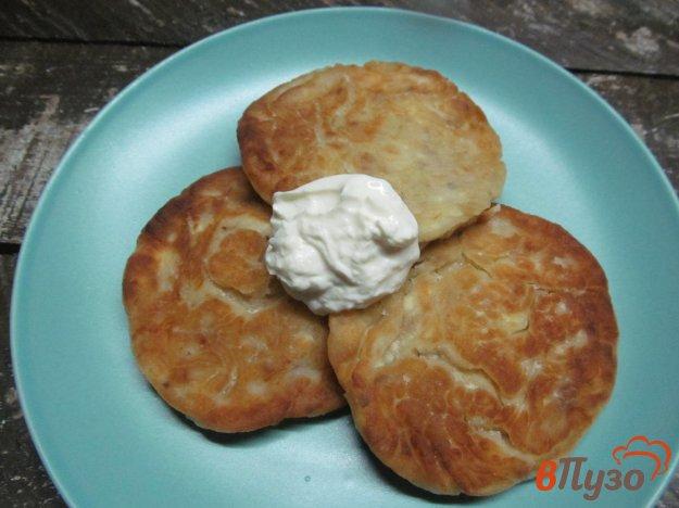 фото рецепта: Сырники с грецким орехом и сыром