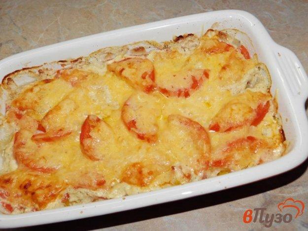 фото рецепта: Рыба в горчично-сметанном соусе в духовке