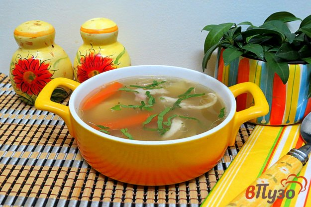 фото рецепта: Суп из голов толстолобика
