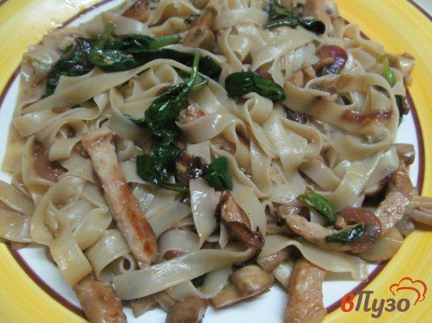 фото рецепта: Лапша со свининой по китайски