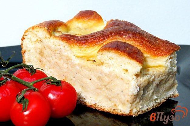 фото рецепта: Дрожжевой пирог с мясом и картофелем