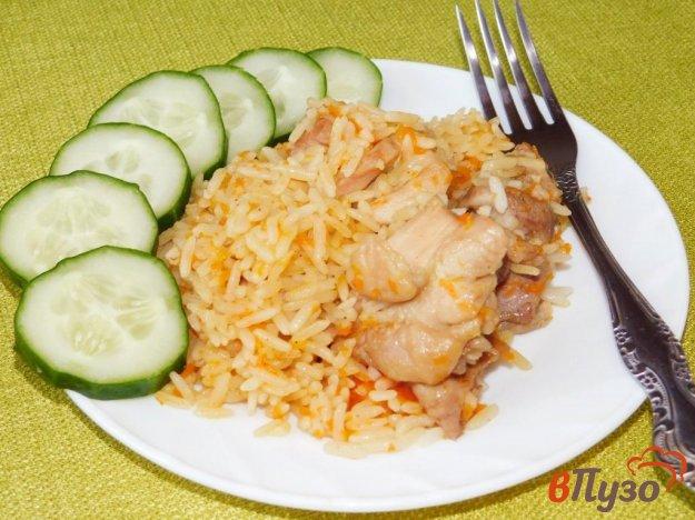 фото рецепта: Курица с рисом в мультиварке