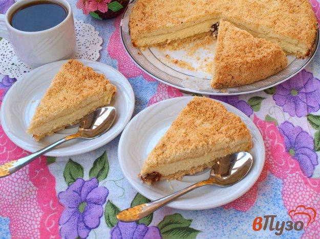 фото рецепта: Насыпной пирог со сливами