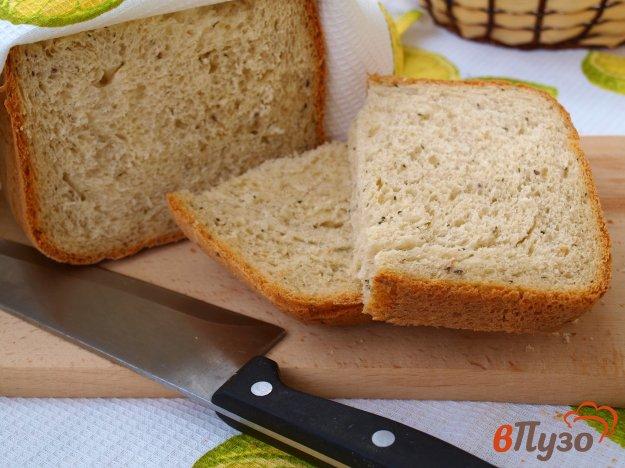 фото рецепта: Хлеб на рассоле, сыворотке и свежих дрожжах в хлебопечке