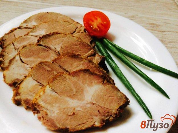 фото рецепта: Запеченная свинина,  маринованная в пяти специях