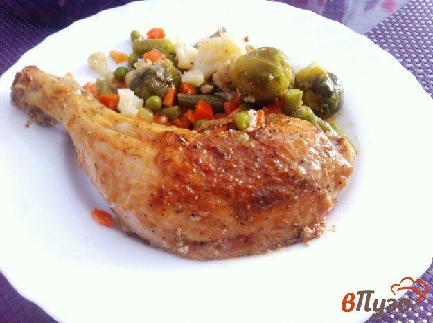 фото рецепта: Куриные окорочка в остром маринаде