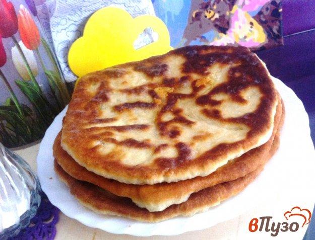 фото рецепта: Лепешка с сыром и луком