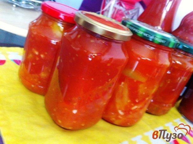 фото рецепта: Лечо с помидорами
