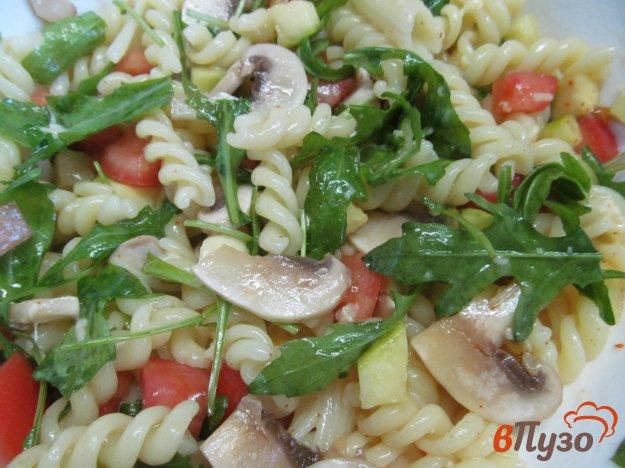 фото рецепта: Салат из макарон с овощами