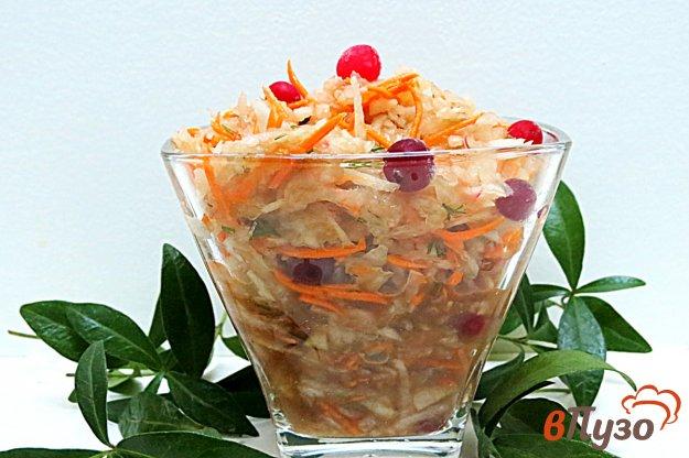 фото рецепта: Салат из редьки и моркови