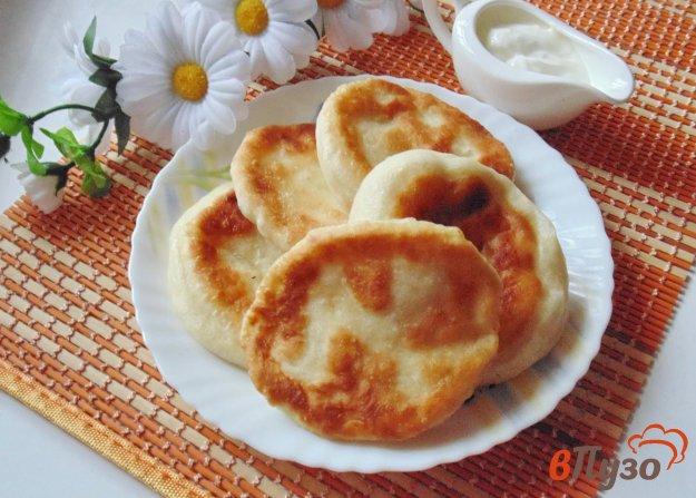 фото рецепта: Лепешки с картофелем на сковороде
