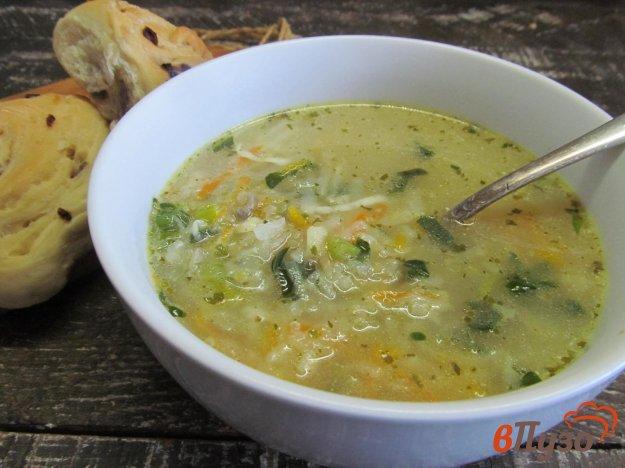 фото рецепта: Овощной суп на утином бульоне