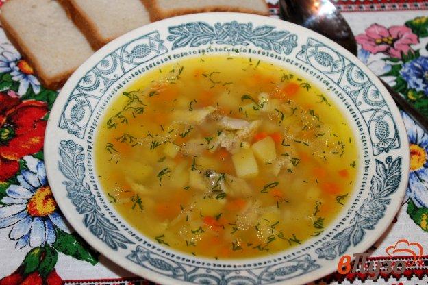 фото рецепта: Куриный суп с кус- кусом