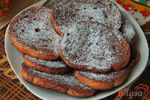 фото рецепта: Шоколадные гренки