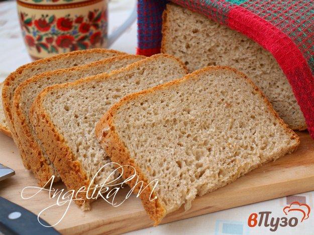 фото рецепта: Ржаной хлеб с овсяными хлопьями на пиве в хлебопечке
