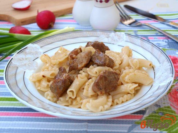 фото рецепта: Свинина на сковороде маринованная с имбирём и горчицей