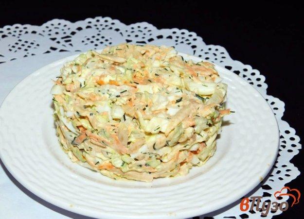 фото рецепта: Овощной салат с пекинской капустой