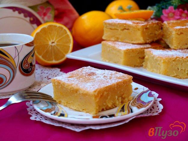 фото рецепта: Лимонный манник